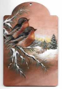Winter Robins  E-Packet
